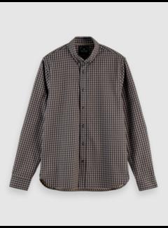 Scotch & Soda Overhemd Regular Fit Ruit Zwart (158412 - 0217)