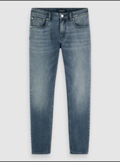 Scotch & Soda Jeans Skim Moonlight Blauw (157455 - 3679)