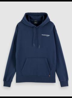 Scotch & Soda Hooded Sweater Navy (162346 - 0002)
