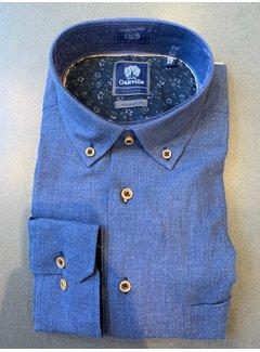 Oakville Overhemd Met Borstzak Blauw (OV100-5/010)