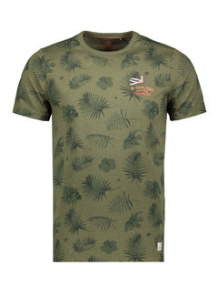 New Zealand Auckland T-shirt Korte Mouw Pearson Auckland Army (21CN705 - 500)