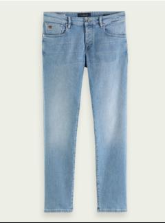 Scotch & Soda Jeans Ralston Recycled Cotton Blauw Trace (160438 - 3958)