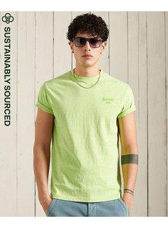 Superdry Ronde Hals T-shirt LA Beach Acid Lime (M1011009A - 55E)