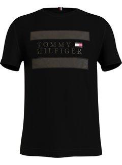 Tommy Hilfiger T-shirt Logo Applique Black (MW0MW17669 - BDS)