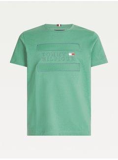 Tommy Hilfiger T-shirt Logo Applique Glazed Green (MW0MW17669 - L5W)