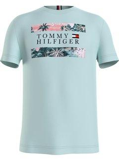 Tommy Hilfiger T-shirt Hawaiian Flag Oxygen (MW0MW17685 - L4T)