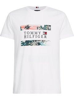 Tommy Hilfiger T-shirt Hawaiian Flag White (MW0MW17685 - YBR)