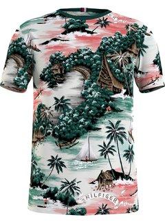 Tommy Hilfiger T-shirt Overall Print Hawaiian Multicolor (MW0MW17686 - 0K4)