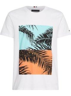 Tommy Hilfiger T-shirt Photoprint White (MW0MW18434 - YBR)
