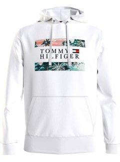 Tommy Hilfiger Hooded Sweater Hawaiian Flag White (MW0MW18370 - YBR)