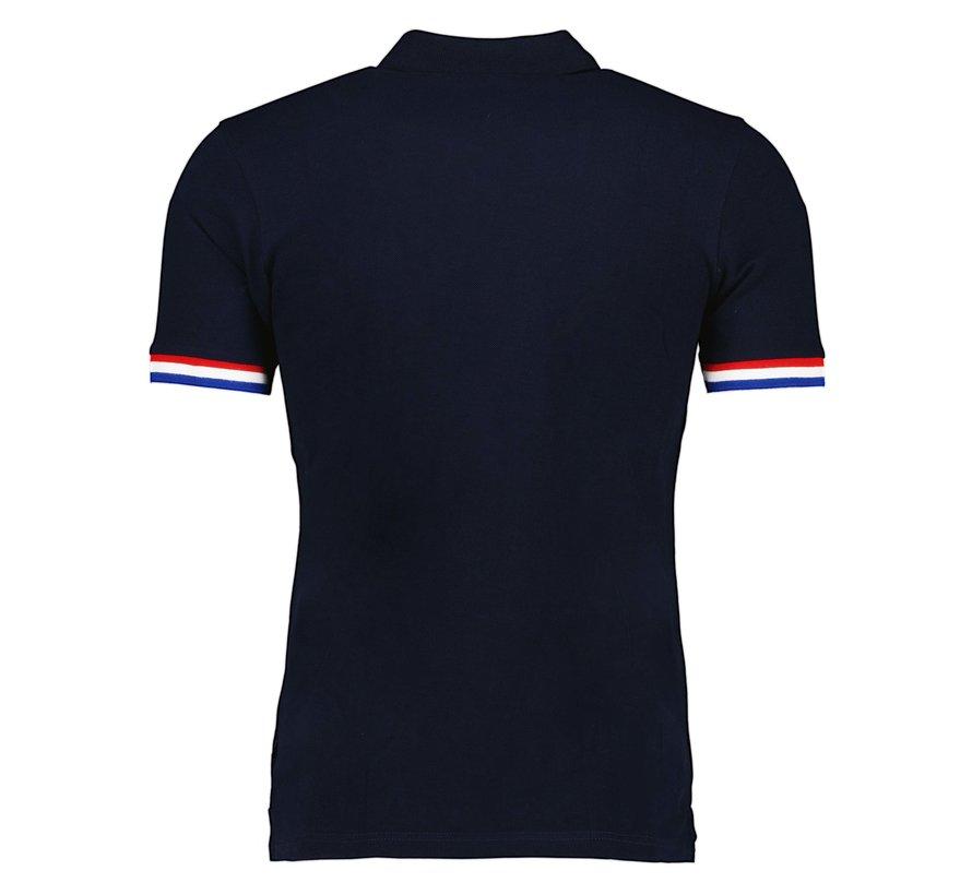 Polo Oranje Navy (116212009 - 699000)