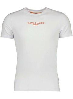 Cavallaro Napoli T-shirt Oranje Wit (117212019 - 100000)