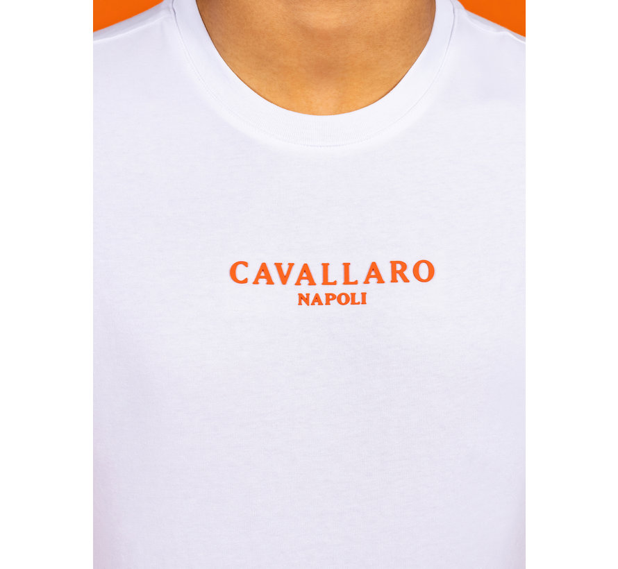 T-shirt Oranje Wit (117212019 - 100000)
