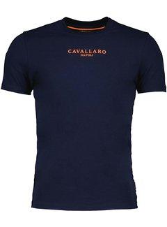 Cavallaro Napoli T-shirt Oranje Navy (117212019 - 699000)