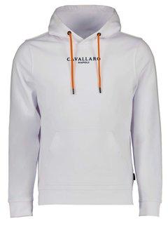 Cavallaro Napoli Hooded Sweater Oranje EK Editie Wit (120212016 - 100000)