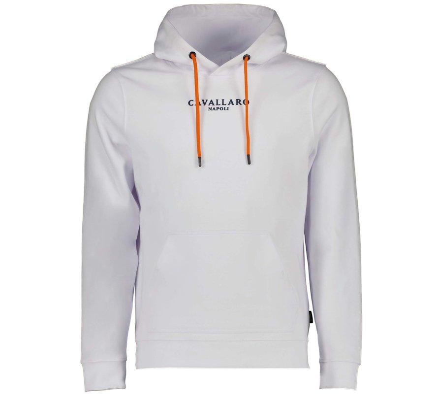 Hooded Sweater Oranje EK Editie Wit (120212016 - 100000)