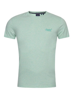 Superdry Ronde Hals T-shirt Vintage Spearmint (M1011245A - DCR)
