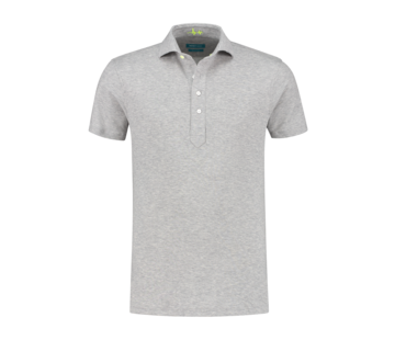 District Indigo Polo Shirt Korte Mouw Grijs (7.11.026.780 - 026)
