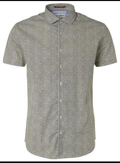 No Excess Overhemd Korte Mouw Lime (95460305 - 056)