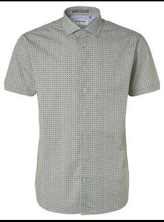 No Excess Overhemd Korte Mouw Steel Blue (95460305 - 123)