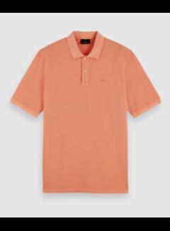 Scotch & Soda Polo Korte Mouw Pink Horizon (162393 - 4230)