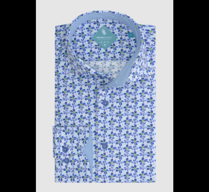 Overhemd Performance Print (7.11.025.771 - 318)