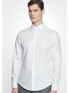 Seidensticker Seidensticker Overhemd Shaped Fit Twill Wit (01.294860 - 01)