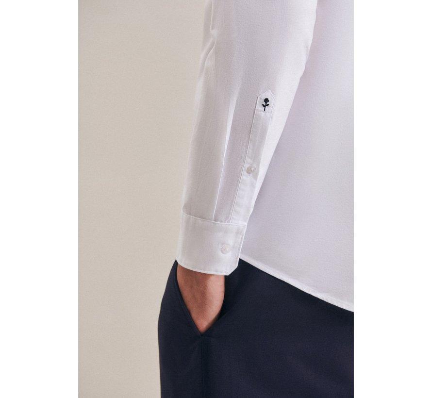 Seidensticker Overhemd Regular Fit Wit (01.117632 - 01)