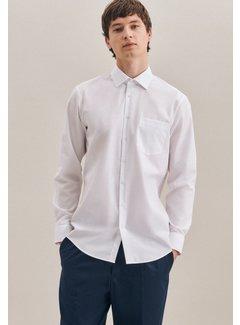 Seidensticker Seidensticker Overhemd Modern Fit Wit (01.003000 - 01)
