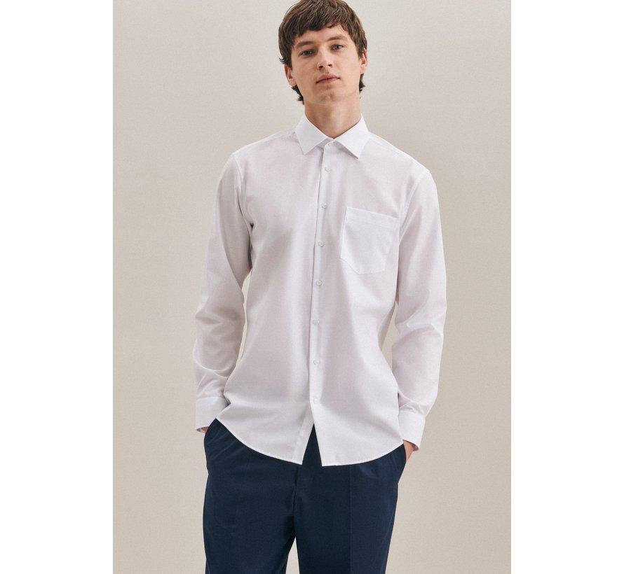 Seidensticker Overhemd Modern Fit Wit (01.003000 - 01)