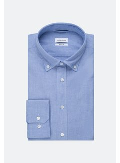 Seidensticker Seidensticker Overhemd Regular Fit Blauw (01.117632 - 13)