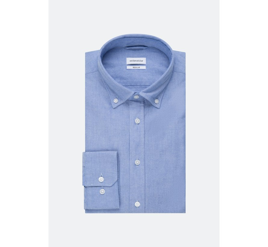 Seidensticker Overhemd Regular Fit Blauw (01.117632 - 13)