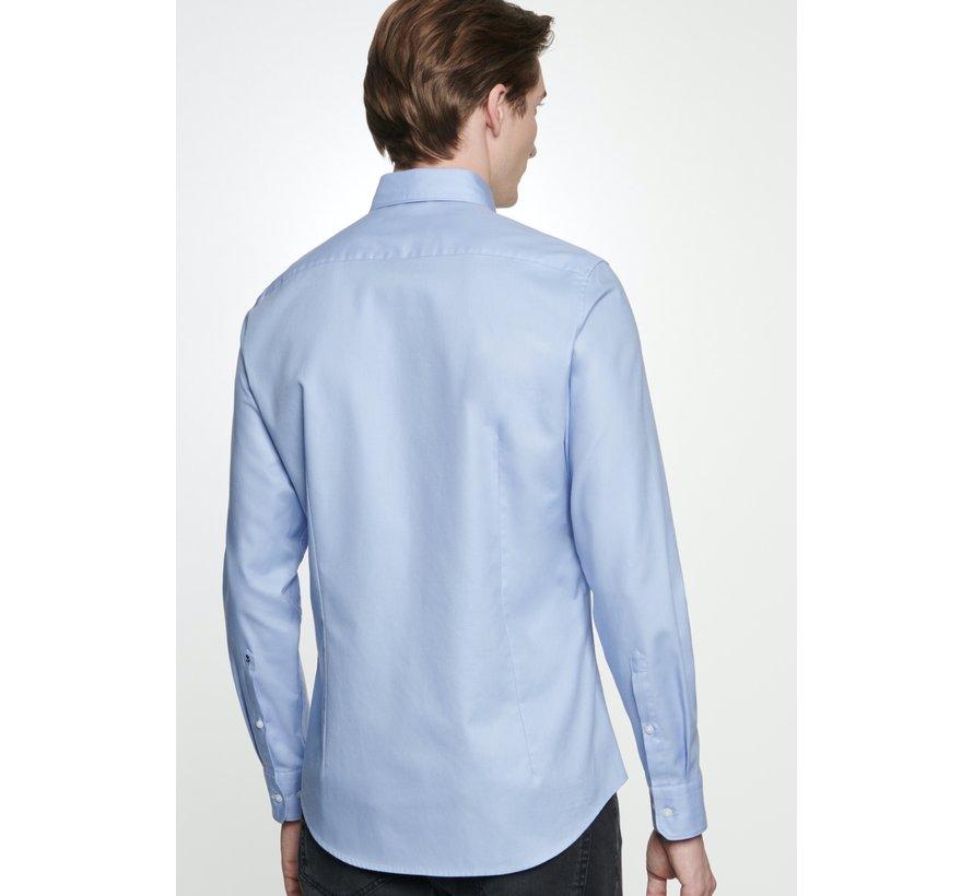 Seidensticker Overhemd Shaped Fit Blauw (01.294860 - 13)