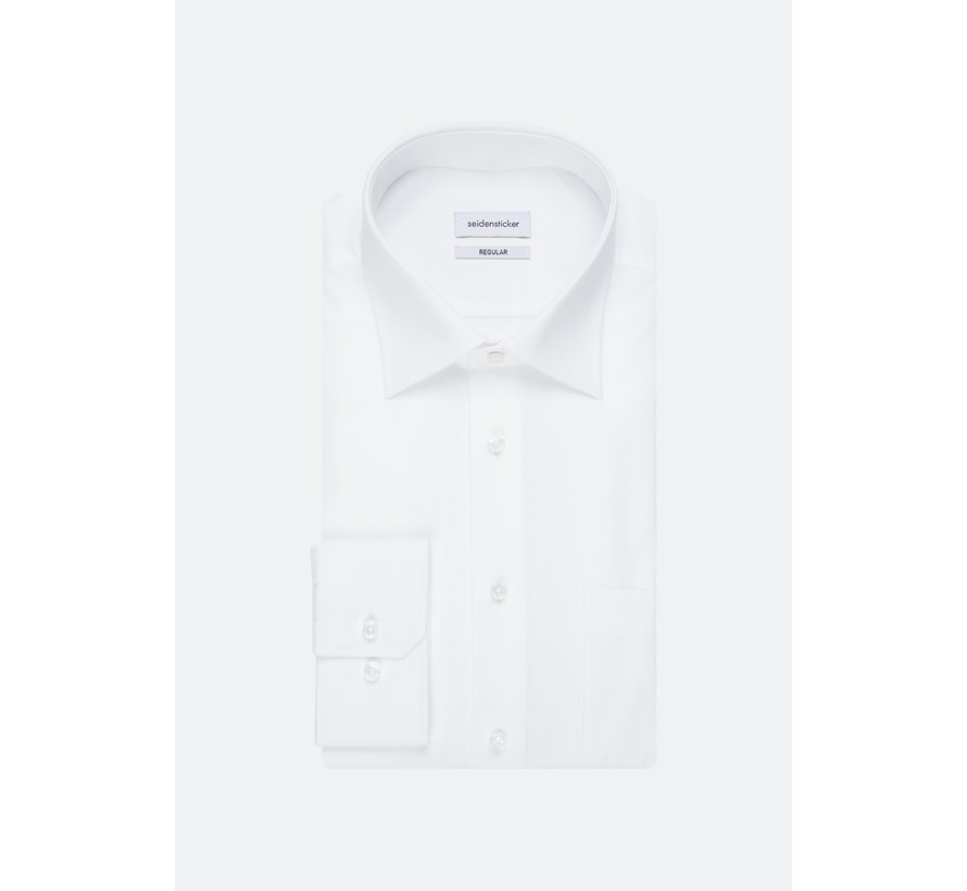 Seidensticker Overhemd Extra Mouwlengte Wit (01.003005 - 01)