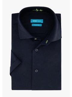 District Indigo Korte Mouw Overhemd Jersey Navy (7.11.035.701 - 010)