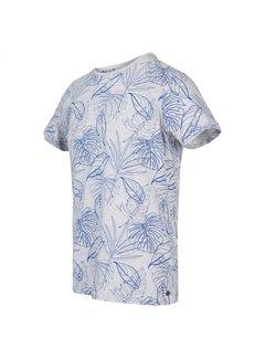 Blue Industry T-shirt Ronde Hals Print Cobalt Blauw (KBIS20 - M54 - Cobalt)