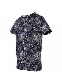 Blue Industry T-shirt Ronde Hals Print Marine Blauw (KBIS20 - M54 - Marine)