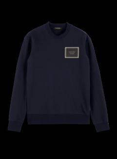 Scotch & Soda Sweater Artwork Navy Blauw (162342 - 0004)