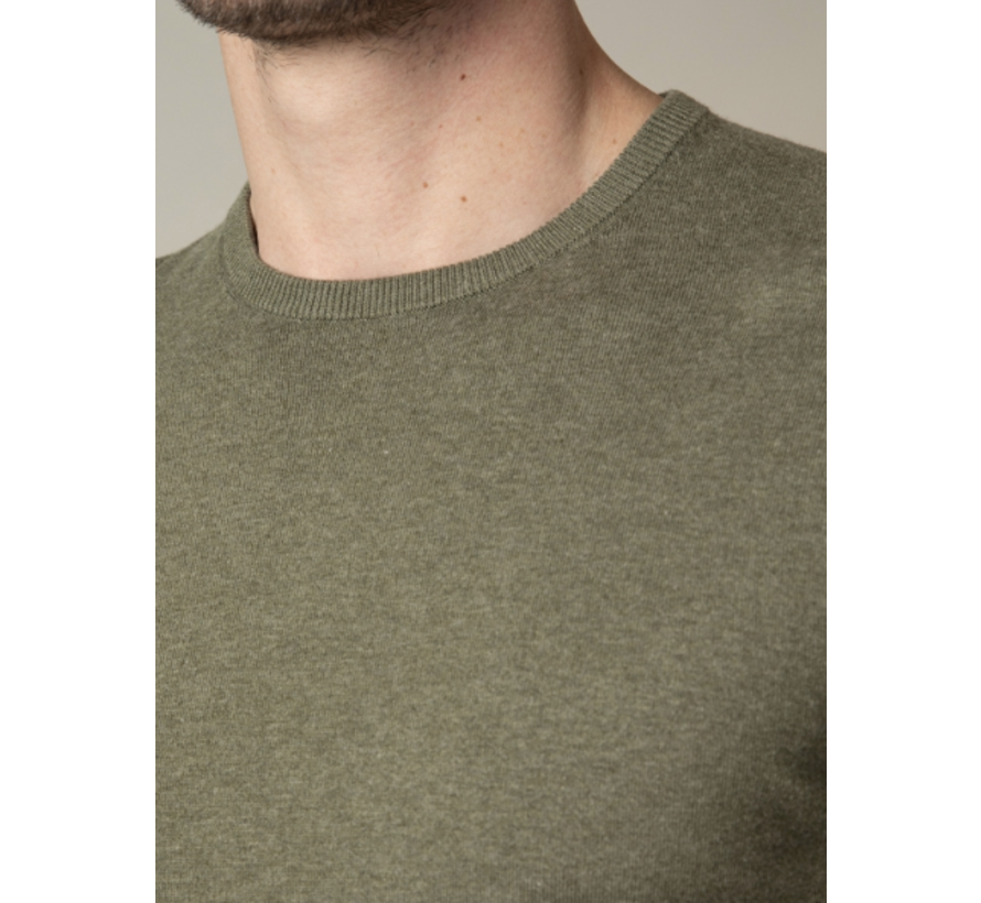 Pullover Tomasso R-Neck Mid Green (118211005 - 550000)