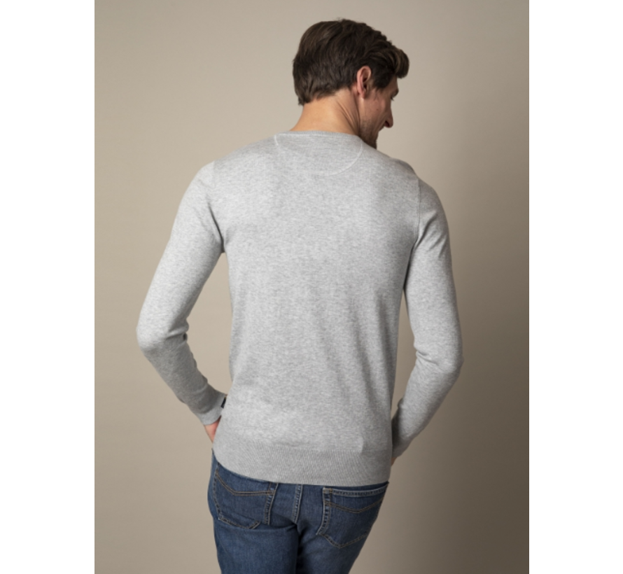 Pullover Tomasso R-Neck Grey Melange (118211005 - 950000)