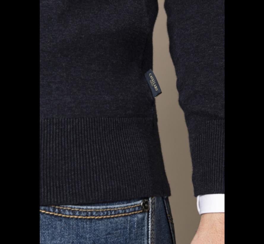 Pullover Tomasso V-Neck Dark Blue (118211006 - 699000)