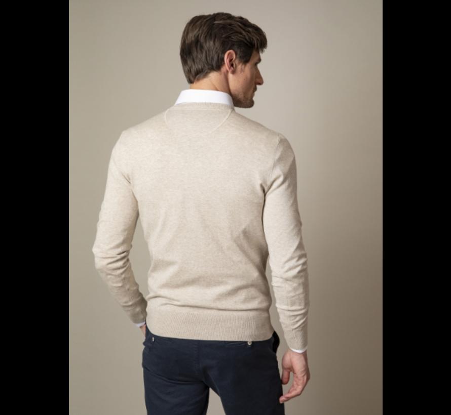 Pullover Tomasso V-Neck Beige (118211006 - 825000)