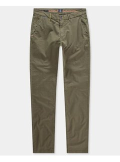 New Zealand Auckland Chino Napier Stretch Twill Army Groen (21AN626 - 500)