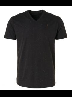 No Excess T-shirt V-Hals Zwart (11320351 - 020)