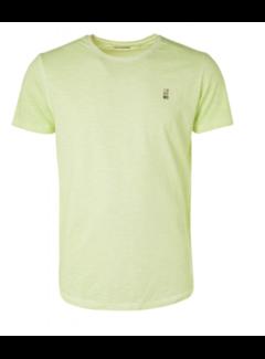 No Excess T-shirt Dyed Slub Lime Groen (11350219SN - 056)