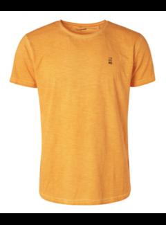 No Excess T-shirt Dyed Slub Sun Geel (11350219SN - 190)