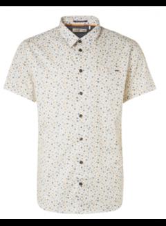 No Excess Overhemd Korte Mouwen Print Sun Geel (11420304 - 190)
