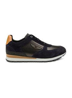 PME Legend Sneakers Lockplate Navy Blauw (PBO215004 - 599)