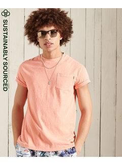 Superdry T-shirt LA Beach Pocket Sunblast (M1010863A - 5MI)