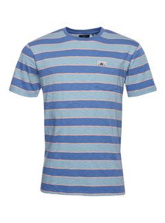 Superdry T-shirt Gestreept Relaxed Fit Blue Multi (M1010895A - GFU)